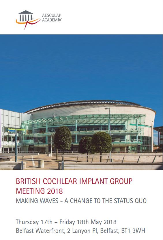 british cochlear implant group safety guidelines